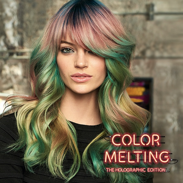 Color Melting Hair Color Trend