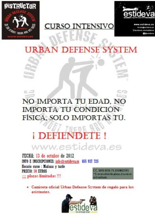 Curso Urban Defense System