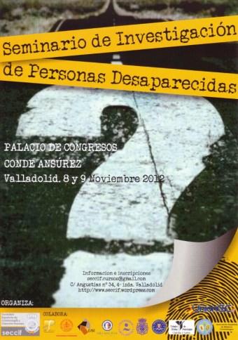 Seminario sobre personas desaparecidas