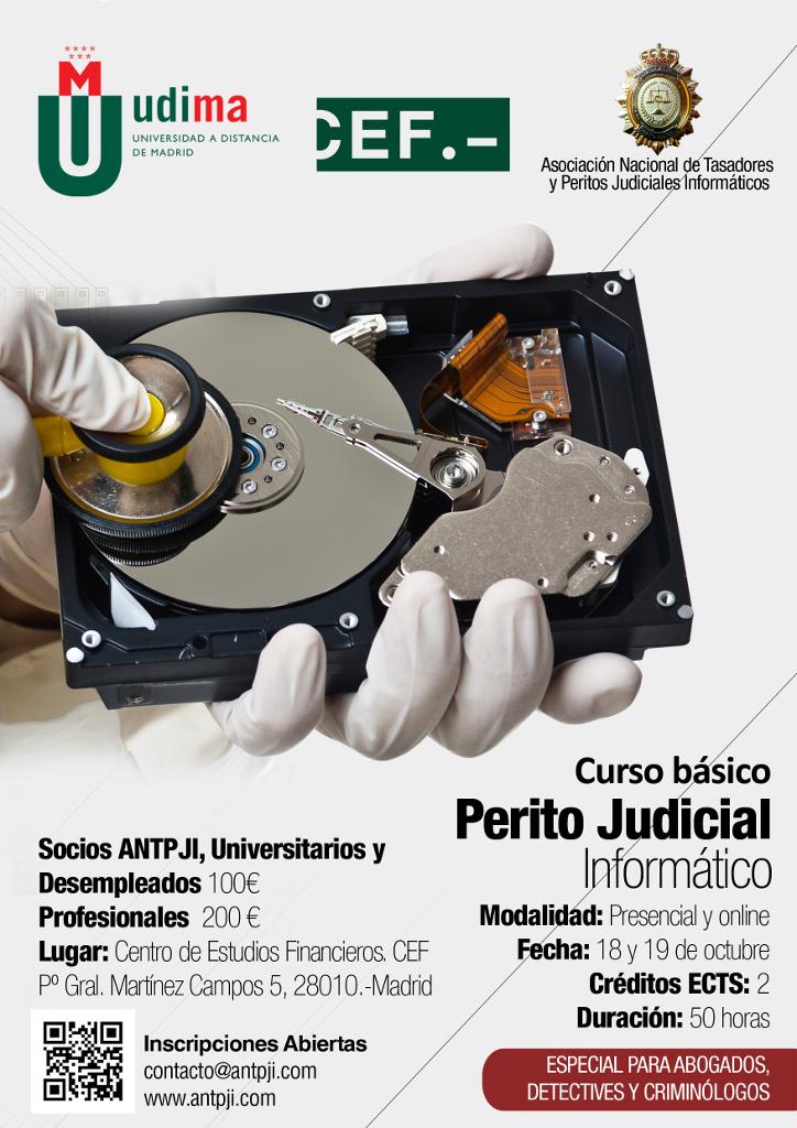Curso basico de perito judicial informatico