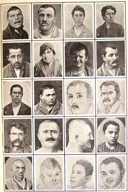 L'uomo delinquente de Cesar Lombroso