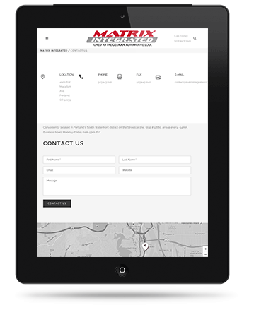 Contact Matrix Integrated - Portland, Oregon