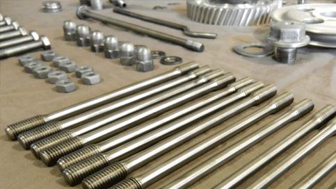 Engine hardware for peerless Porsche 356 engine rebuild