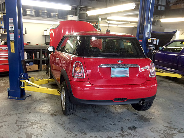MINI upgrades performed by ex-dealership MINI technician, shop foreman, team lead
