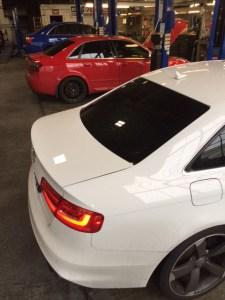 Audi S4's in for accurate diagnostics