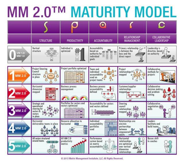 Matrix Management 2.0™ Matrix Maturity Model