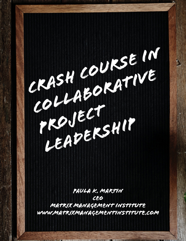 Crash Course in Collaborative Project Leadership