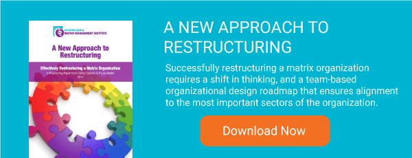 A New Approach to Restructuring white paper