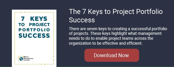 7 Keys to Project Portfolio Success