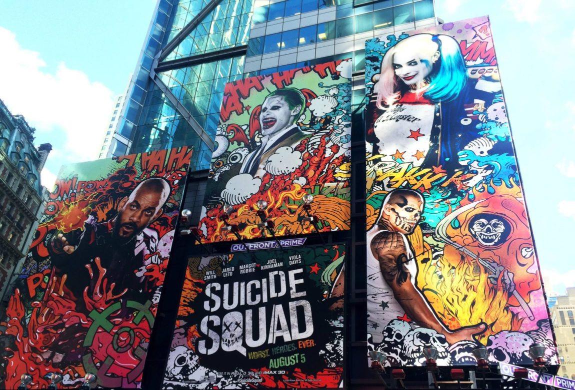 Suicide Squad using OOH
