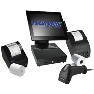 touch screen pos computer