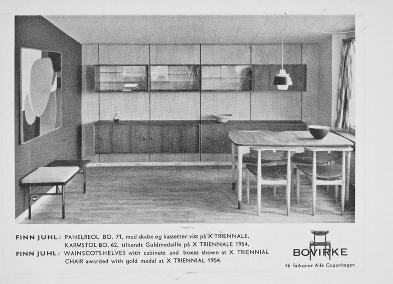 Finn Juhl. Modell: Bo 71. Produsert av Bovirke.