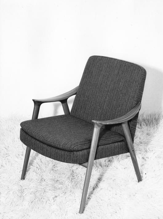Modell: Klarinett. Produsert av Møre Lenestolfabrikk.