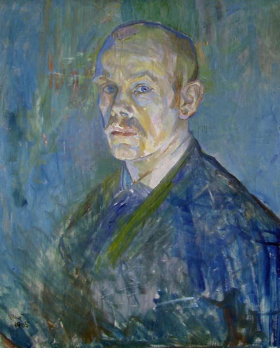 Oluf Wold-Torne. Selvportrett. 1905. (Foto: Nasjonalmuseet)