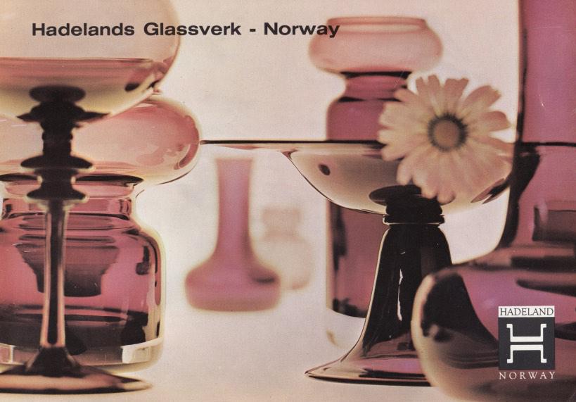Hadeland Glassverk produktblad.