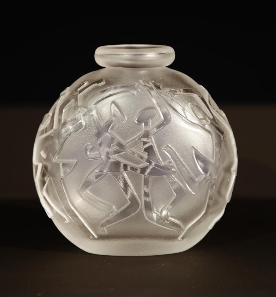Arne Jon Jutrem. Vase. Modell: 606. Utført ved Hadeland Glassverk. 1952. (Foto: Mats Linder)