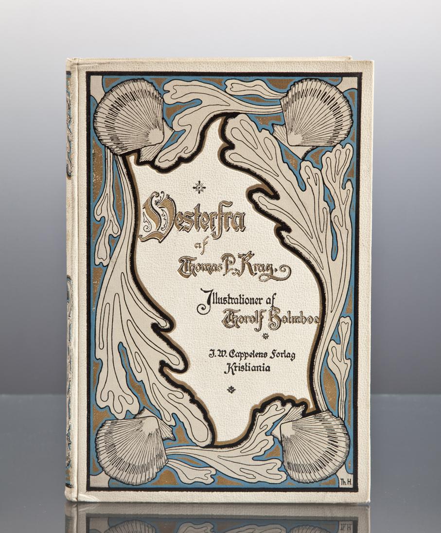 Thorolf Holmboe (bokomslag). Vesterfra af Thomas P. Krag. J. W. Cappelens Forlag. Kristiania, 1897. (Foto: Mats Linder)
