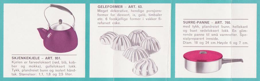 Il-O-Van produktkatalog fra 1960. (Jan Erik Olsen/Moss By- og Industrimuseum)