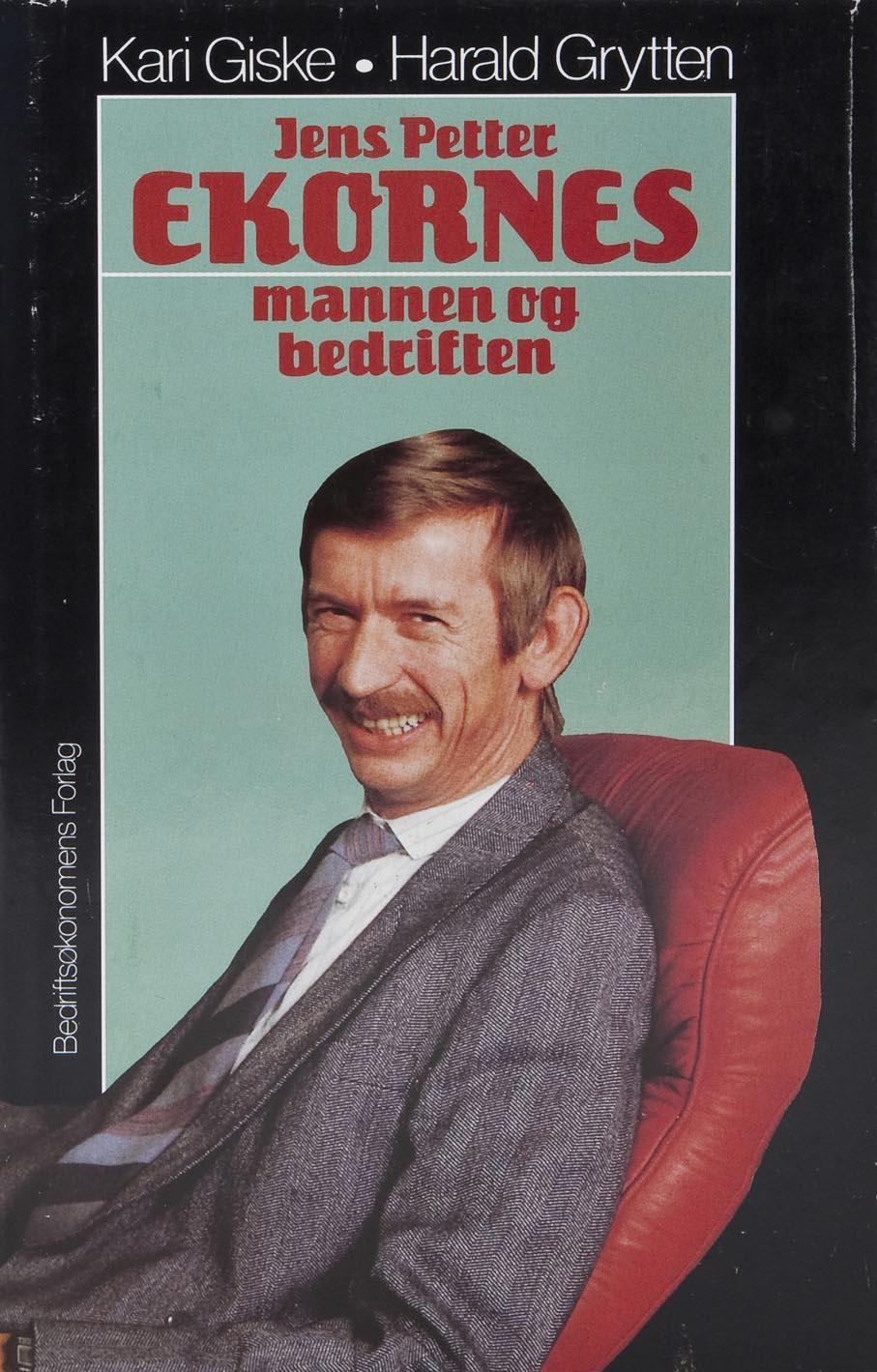 Kari Giske og Harald Grytten. Jens Petter Ekornes: mannen og bedriften. Bedriftsøkonomenes Forlag. Oslo, 1987.