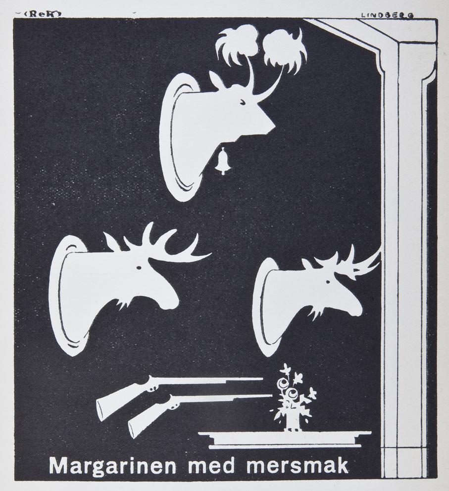 John Lindberg og A/S Reklames Annoncebureau sin reklamekampanje for Agra og deres Melange margarin ble publisert som eget bilag i Propaganda 10/1925, utgitt i april 1925.