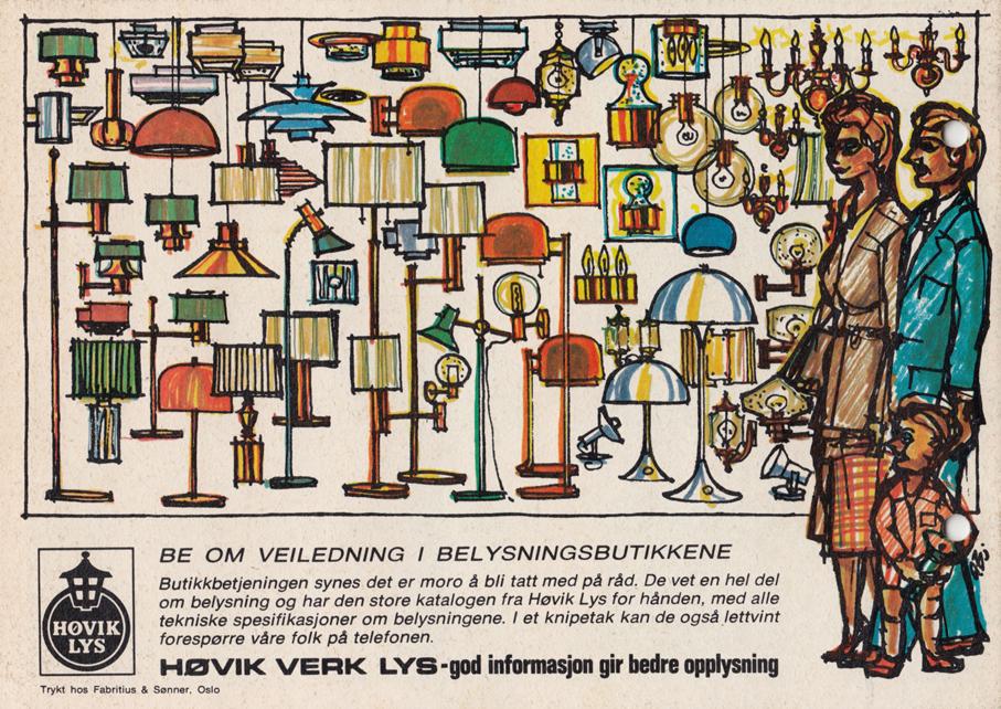 HØVIK VERK – PRODUKTKATALOG FRA 1970 TALLET – Mats Linder