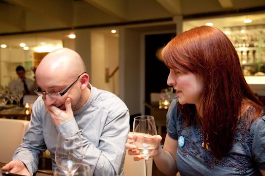 Wine Tasting Conversation