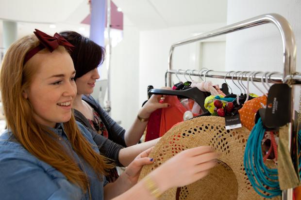 Mat Smith Photography - Dublin Topshop - Choosing Clothes