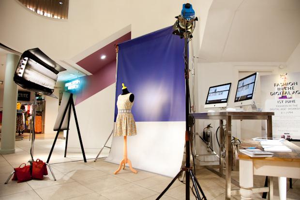 Mat Smith Photography - Topshop Dublin Floor Setup