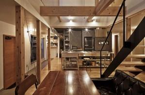 神戸市H様邸、どんつきの家