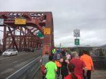 almost on the bridge..