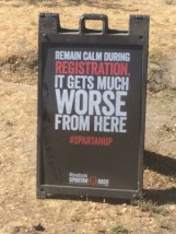 The first sign you see before registering. This isn't a lie.