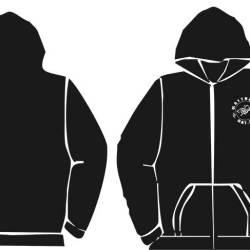 hoodie zipped