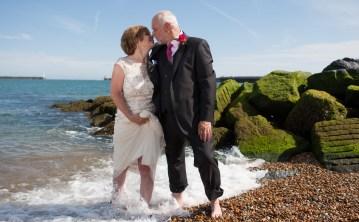 Kath and Alan - Wedding at Marine Hotel.