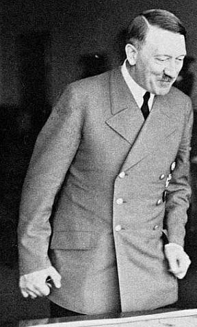 Hitler, February 1945