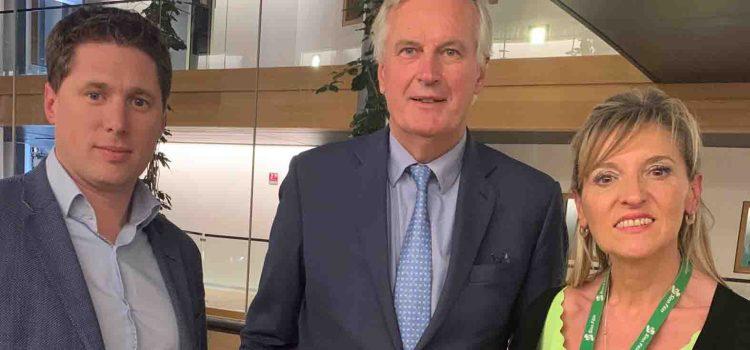 """""""Barnier confirms that EU will not accept Unionist veto"""" – Matt Carthy MEP"""