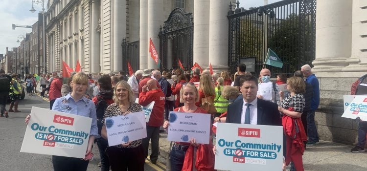 Government must protect local employment services