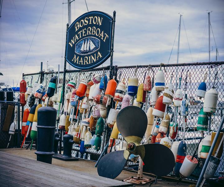 Boston Waterboat Marina Buoys