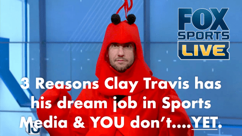 3 reasons why Clay Travis has his dream job doing sports radio and you don't