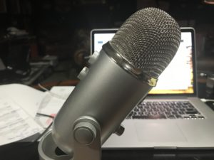 Bad Yeti Microphone set up