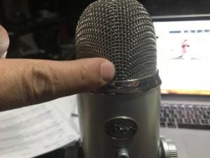 Better Yeti Microphone set up