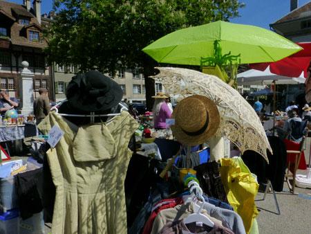 Impressionen Flohmarkt Mai 2016 Mühlenplatz