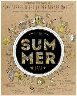 Poster Summer Bash von Jonas Moser