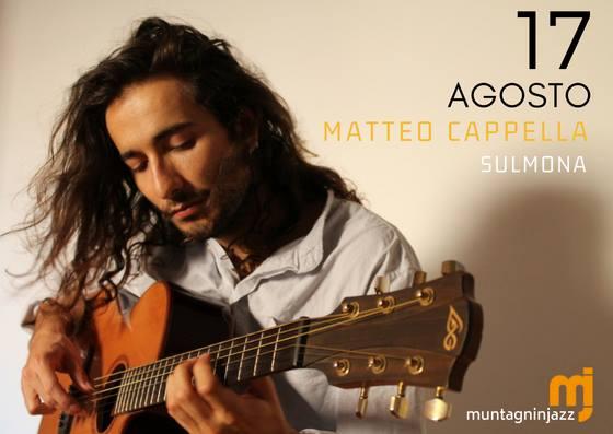 Matteo Cappella Live Muntagn in Jazz Sulmona