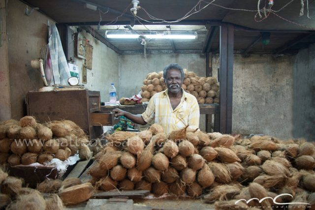 Coconut-seller-India