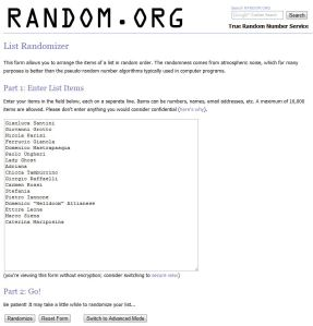 Giveaway #2 - the winner is...