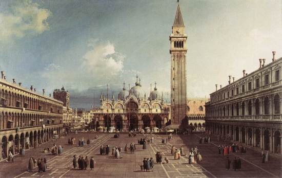 Piazza San Marco, Canaletto (1830)