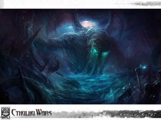 The Art of Cthulhu Wars di Richard Luong
