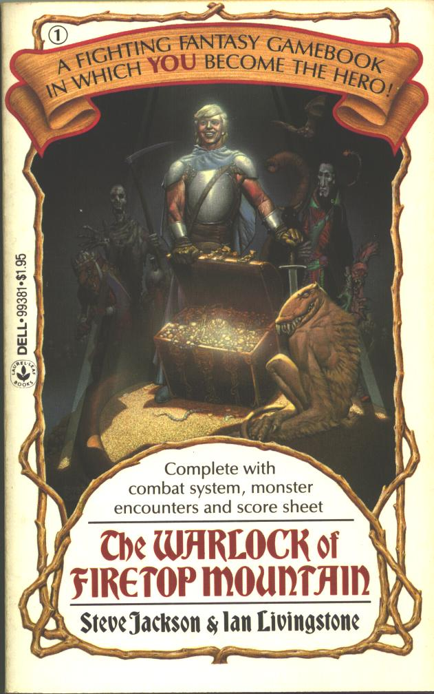 The Warlock of Firetop Mountain, ed 1983