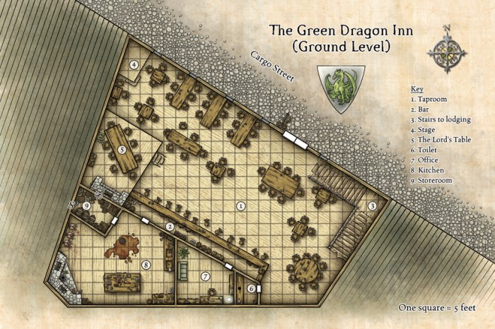 Green Dragon Inn © Wizards of the Coast