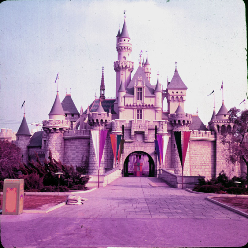 Sleeping Beauty's Castle, 1950's